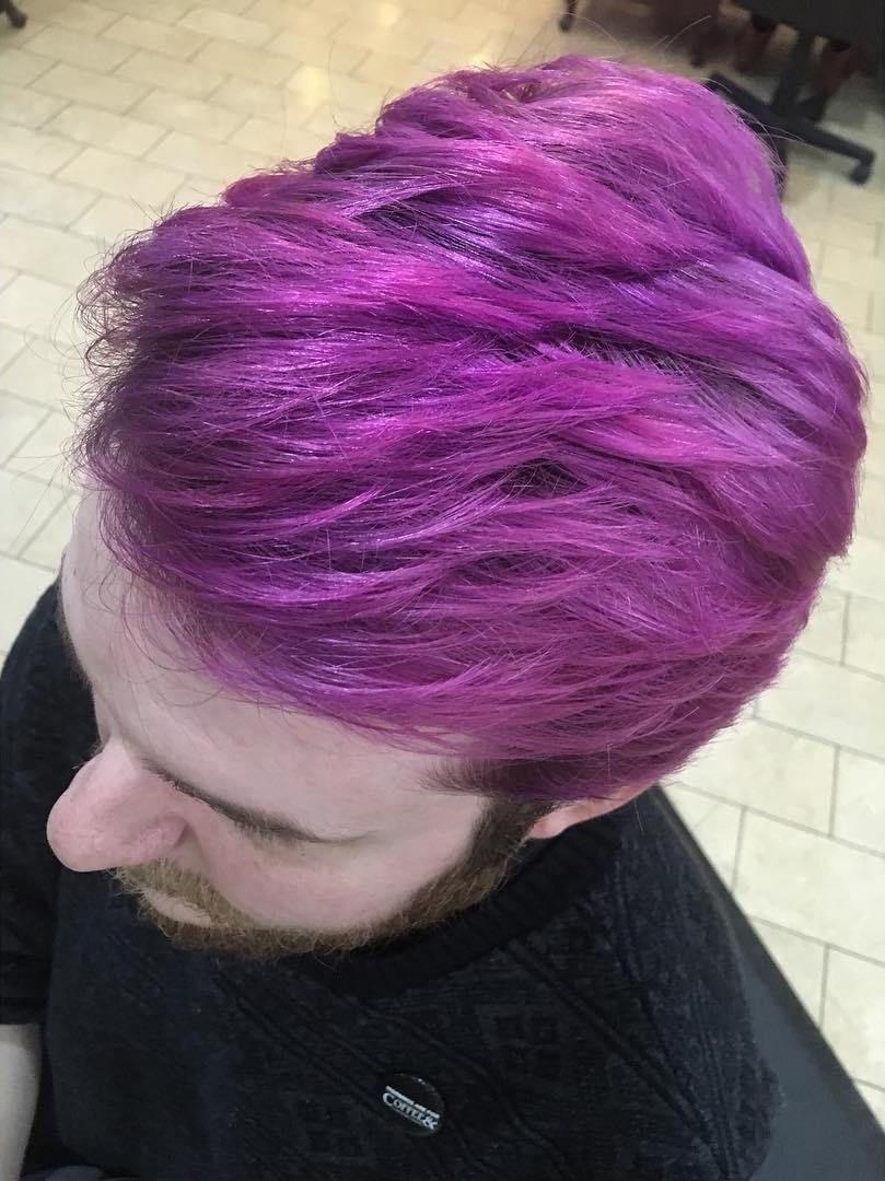 Menus hair color ideas for new look in merman hair