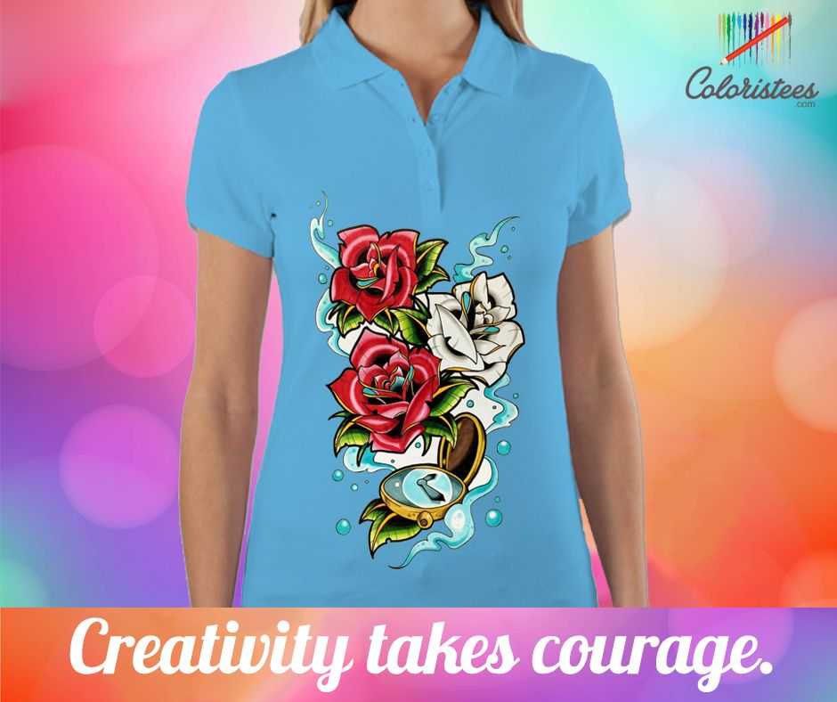 Let 's begin to live a creative life,So you will find the wonderful chance to create the own creative design with coloristees.com and wear your design on quality brand clothes. Hurry Up!! Join us at www.coloristees.com