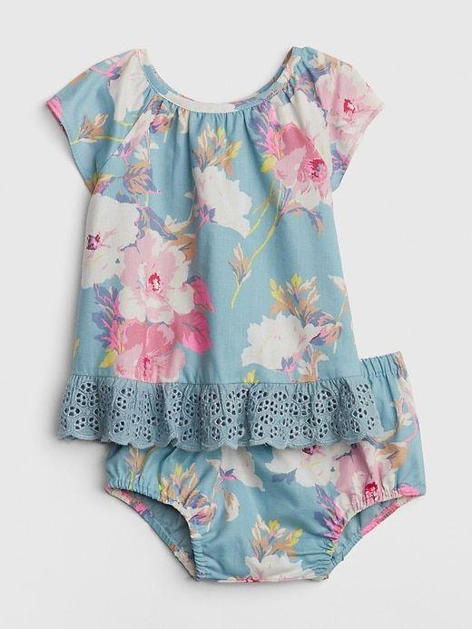 601ff1a85 Gap Babies' Baby Floral Flutter Set Blue Floral Print | Products ...