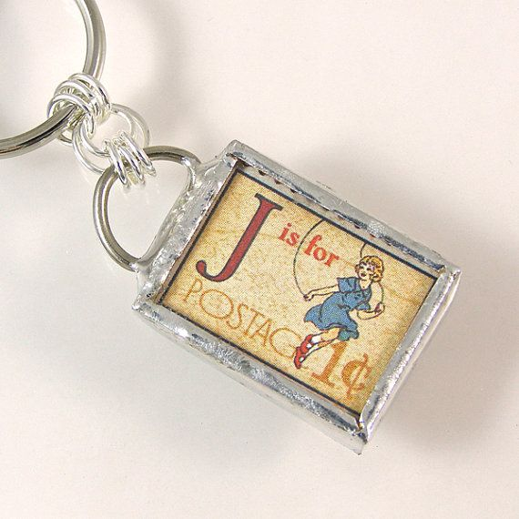 J is for Jump Initial Keychain Initials, Calligraphy fonts and - admiration letter