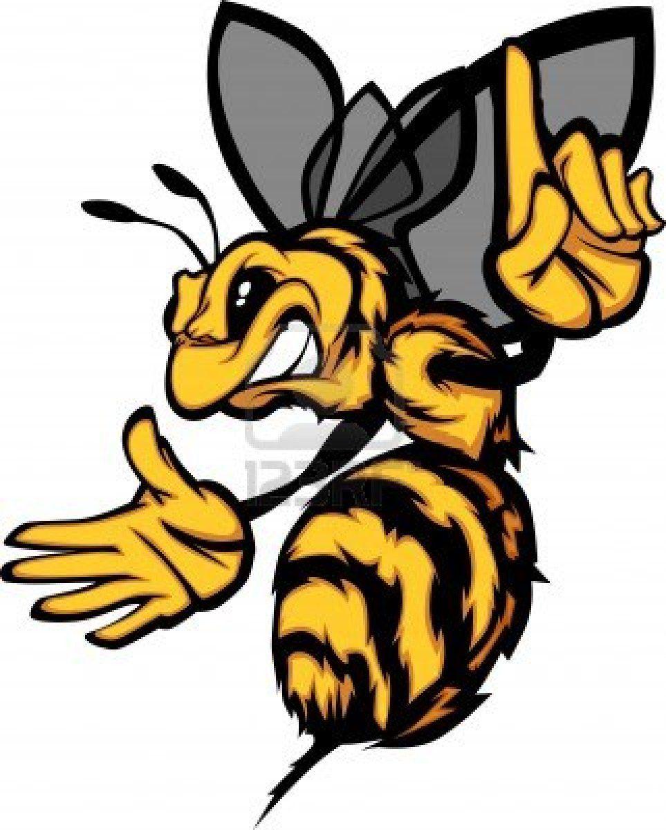 hornet bee wasp cartoon image stock photo 10641736 i see cute rh pinterest com Yellow Jacket Clip Art Christmas Dead Yellow Jacket Clip Art