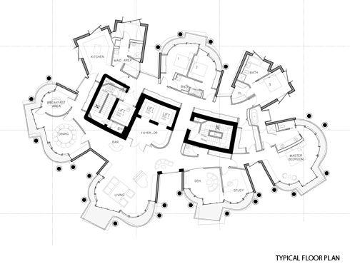 Frank Gehry Opus Floor Plan Architecture Pinterest