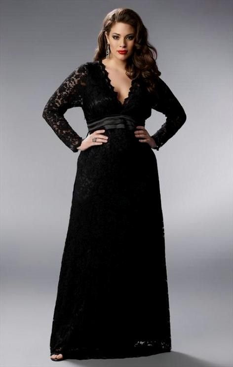 47201c2c425 Long Black Plus Size Evening Dresses – Fashion dresses