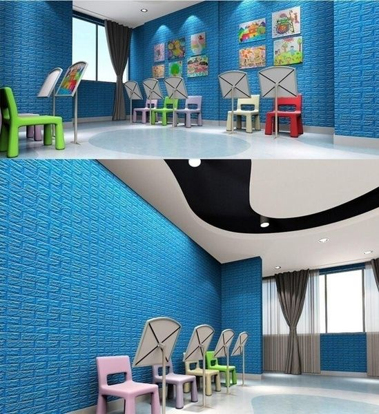 Best 3D Brick Pattern Wallpaper Bedroom Living Room Modern Wall 640 x 480