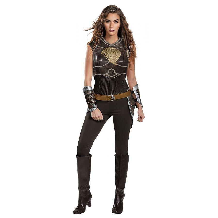 Garona Halforcen Costume Adult World of Warcraft Orc Halloween Fancy Dress