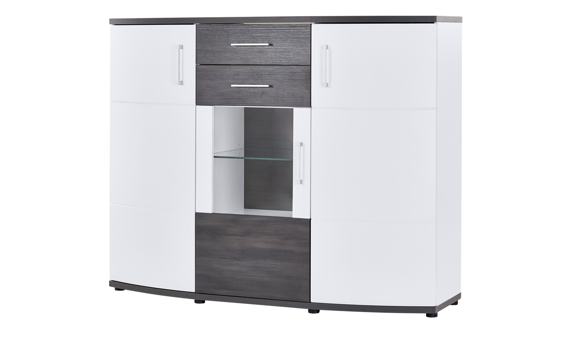 Highboard Belano Masse Cm B 160 H 130 T 43 Kommoden