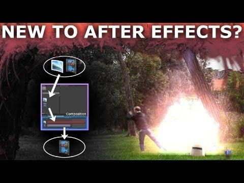 After Effects Basic Beginners Tutorial 1 6 How To Create Cool