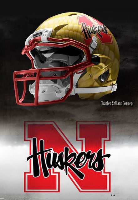 932825499d2 Nebraska Football Helmet Design