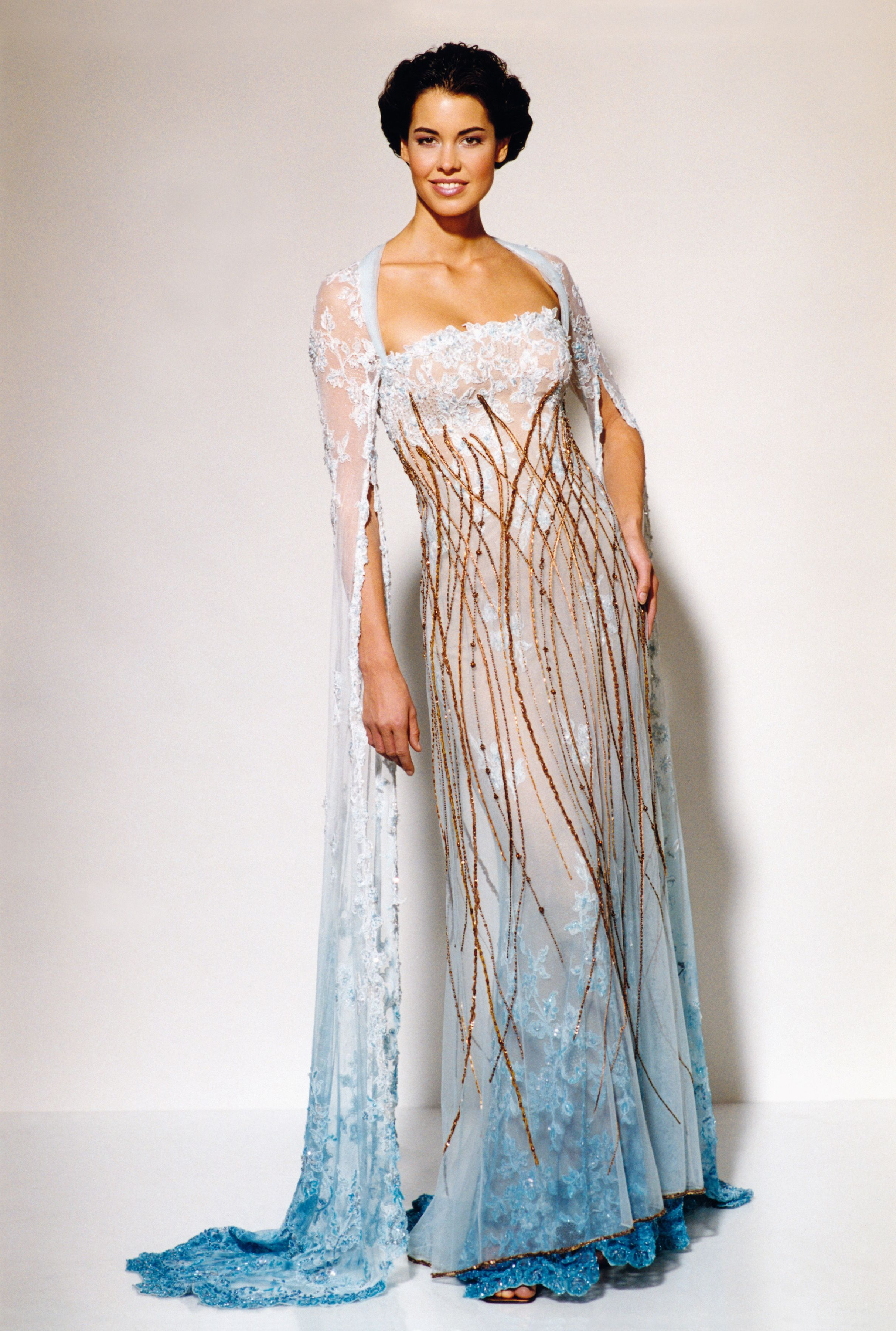 40704ea8e03d Haute Couture šaty Blanky Matragi kolekce k výročí. Haute Couture by Blanka  Matragi