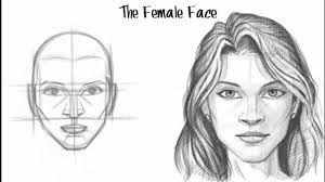 drawing girl face - Google zoeken