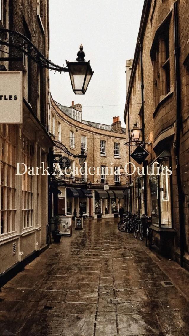 Dark Academia Outfits
