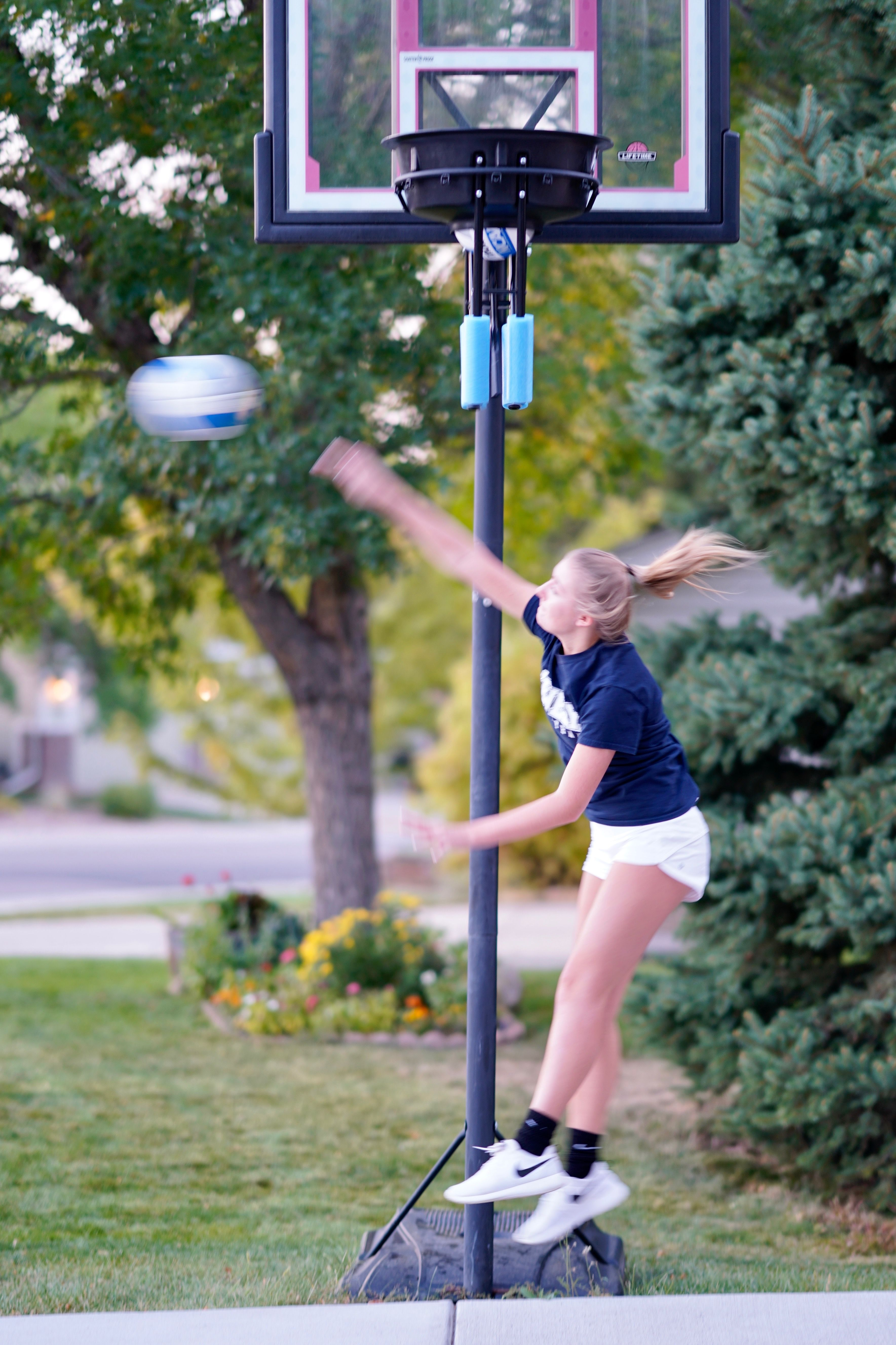 Learn To Hit With Power And Accuracy Volleyball Clubs Volleyball Volleyball Drills