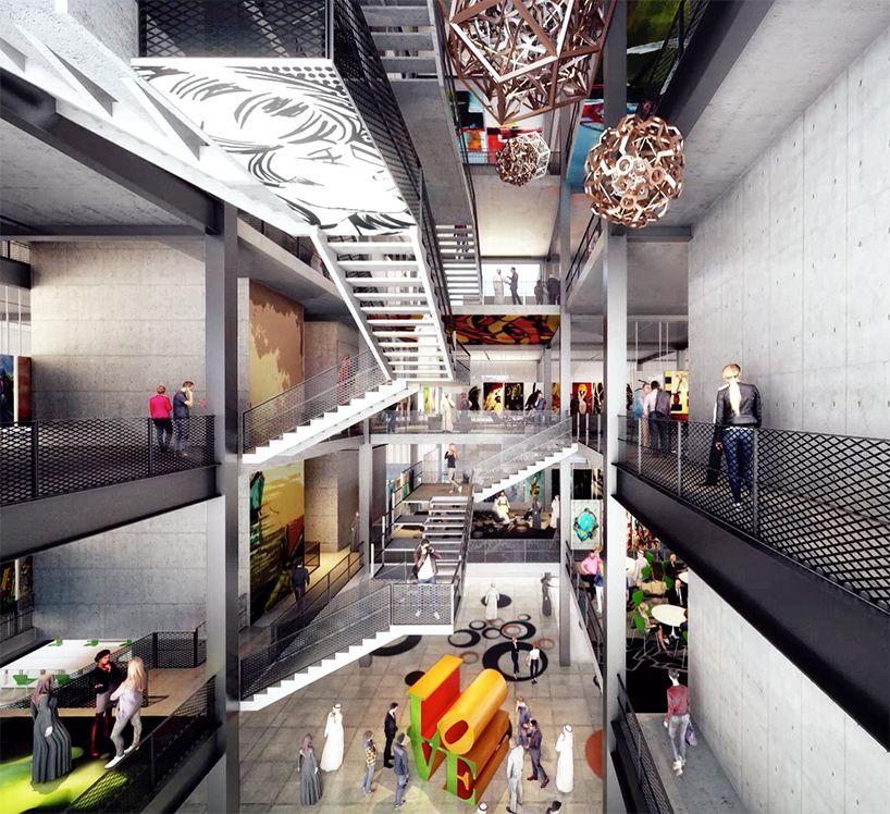 Foster And Partners Didi Design School Dubai Designboom School Design Dubai Design Week Institute Of Design