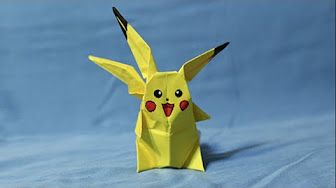 Watch This Video To Learn How Make An Origami Pikachu Add Cute Pokemon Your Collection Will Happily Sit By