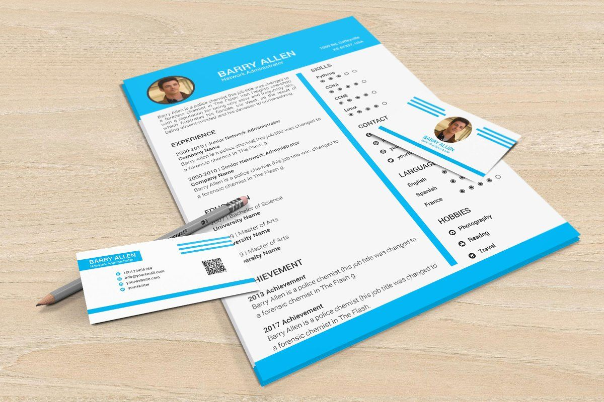 Word Resume & Cover Letter Template in 2020 Resume cover
