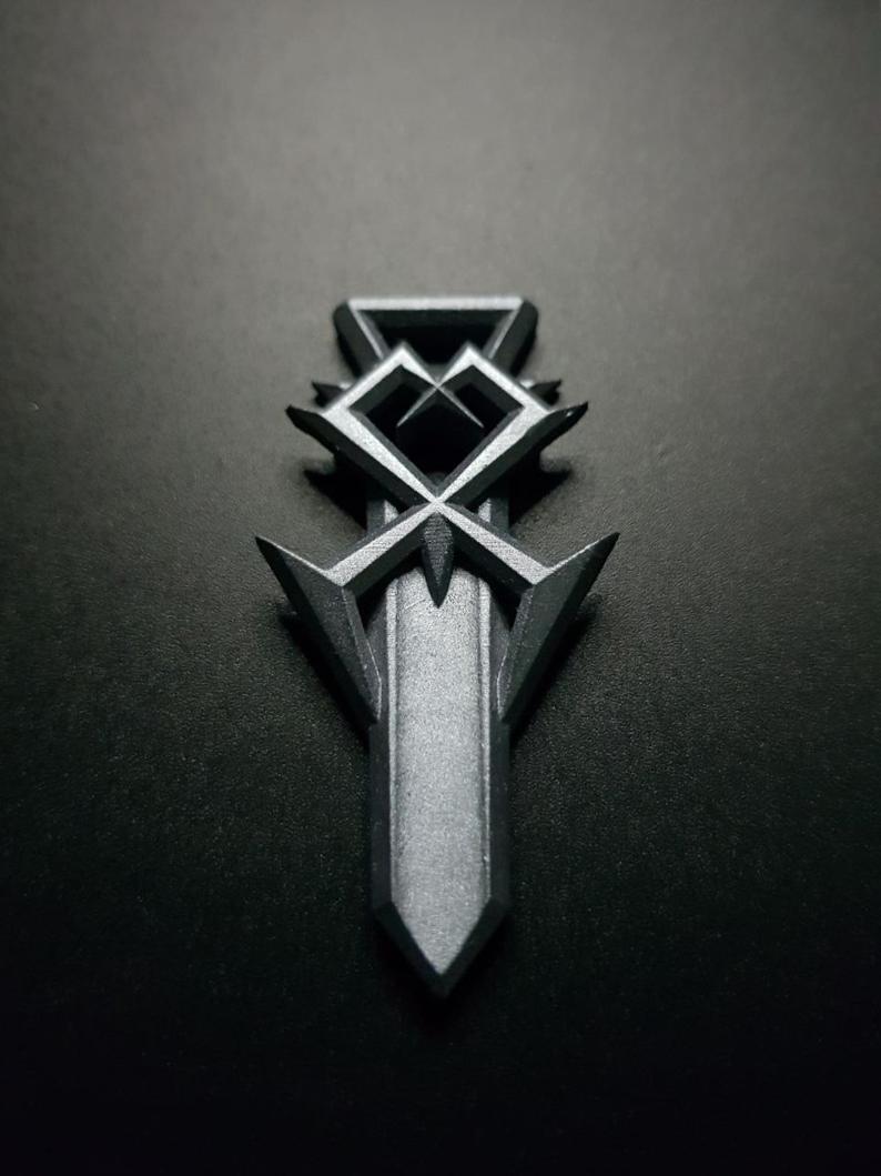 Kingdom Hearts Organization Xiii Zip Ornament In 2021 Kingdom Hearts Air Brush Painting Kingdom