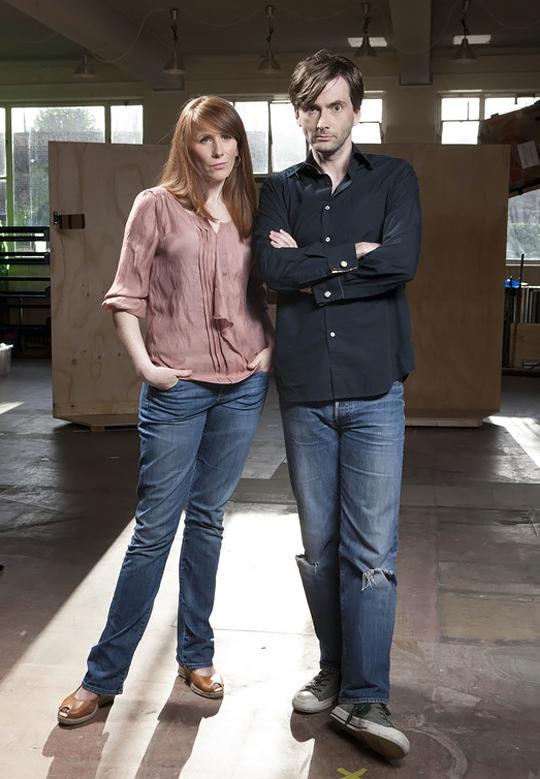 David Tennant and Catherine Tate Catherine tate, David