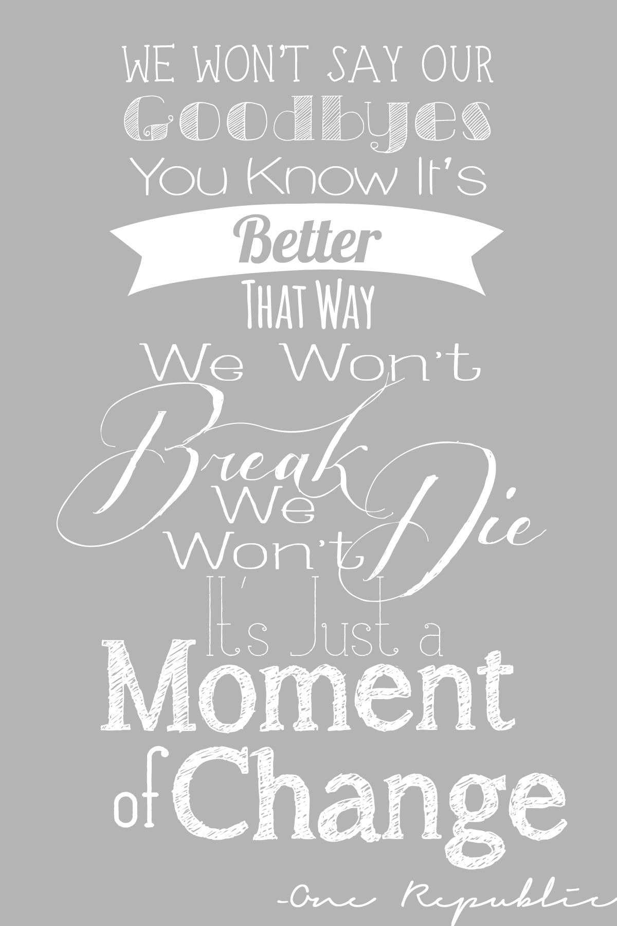 All We Are One Republic Lyrics Love This Onerepublic Is Da Bomb One Republic Lyrics Song Lyric Quotes Favorite Lyrics