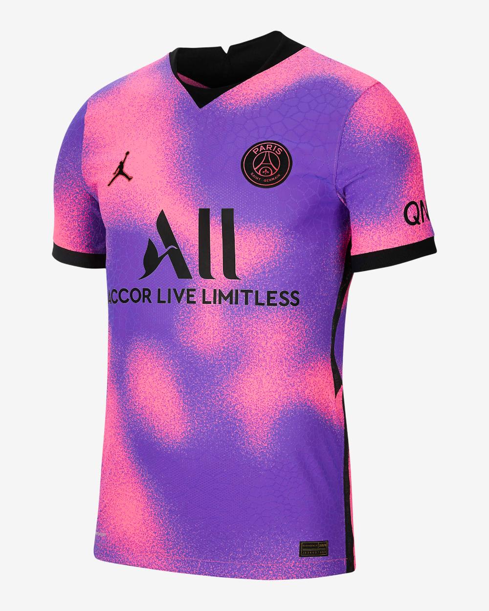 Paris Saint-Germain 2021/22 Vapor Match Fourth Men's Football ...