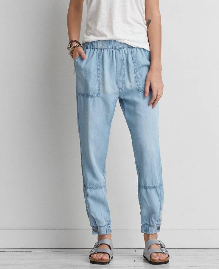 sale uk various colors value for money AEO Indigo Soft Jogger (Jogging Pants), Women's | *Clothing ...