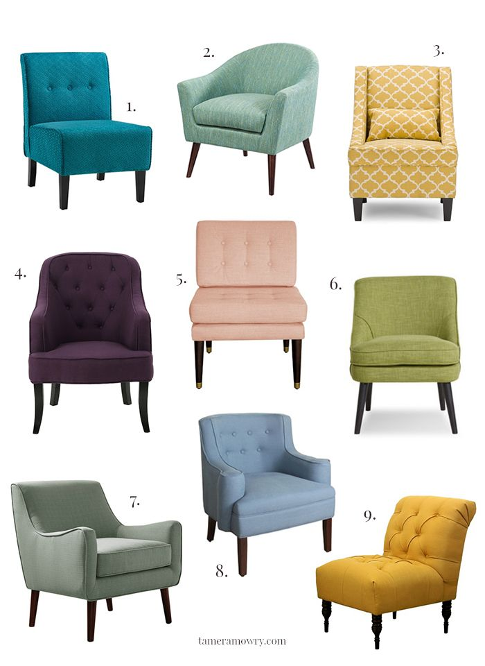 Colorful Accent Chairs Under 300 Living Room Sofa Design Sofa