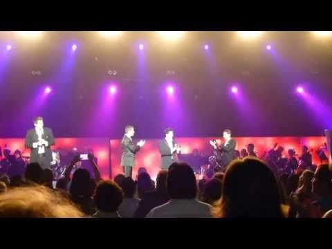 Il Divo ,I cant help Falling in Love with You Time to Say Goodbye 5-19-13 Pechanga - YouTube