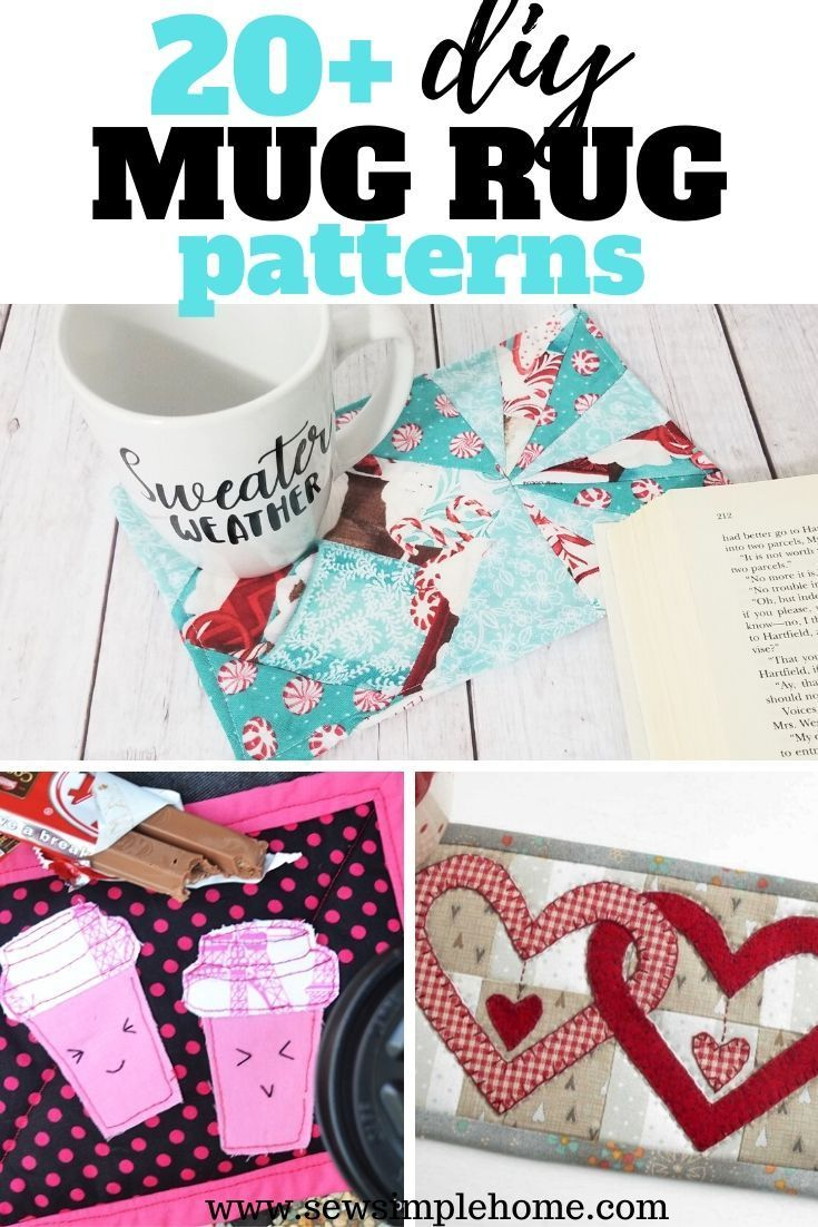 Mug Rug Sewing Patterns