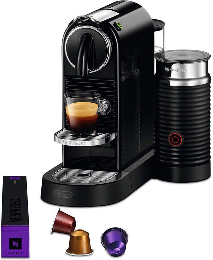 Nespresso citiz milk espresso maker by delonghi black