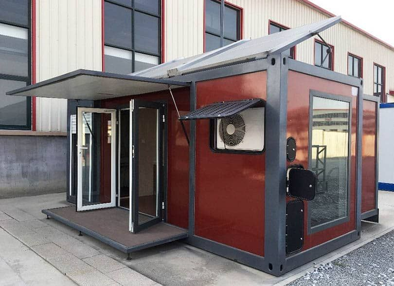 Shipping Container House Tiny Home Designs In 2020 Pre Fab Tiny House Container Homes For Sale Container House
