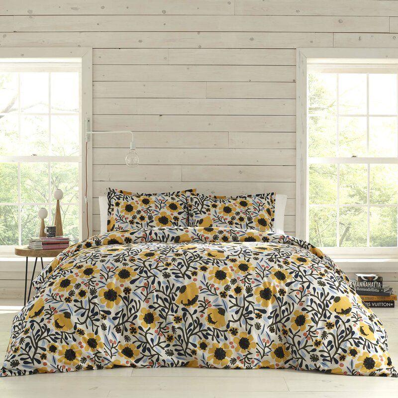 Mykero Reversible Comforter Set in 2020 King duvet cover