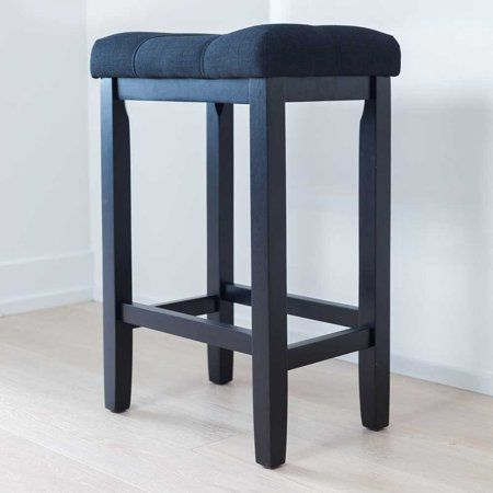 Outstanding Hylie Wood Kitchen Counter Bar Stool 24 Inch Black Tuft Uwap Interior Chair Design Uwaporg