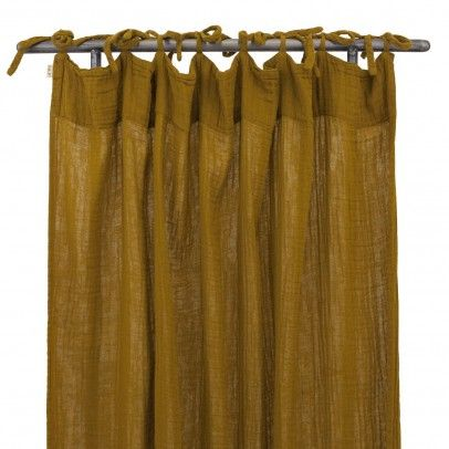 Curtain Mustard Yellow