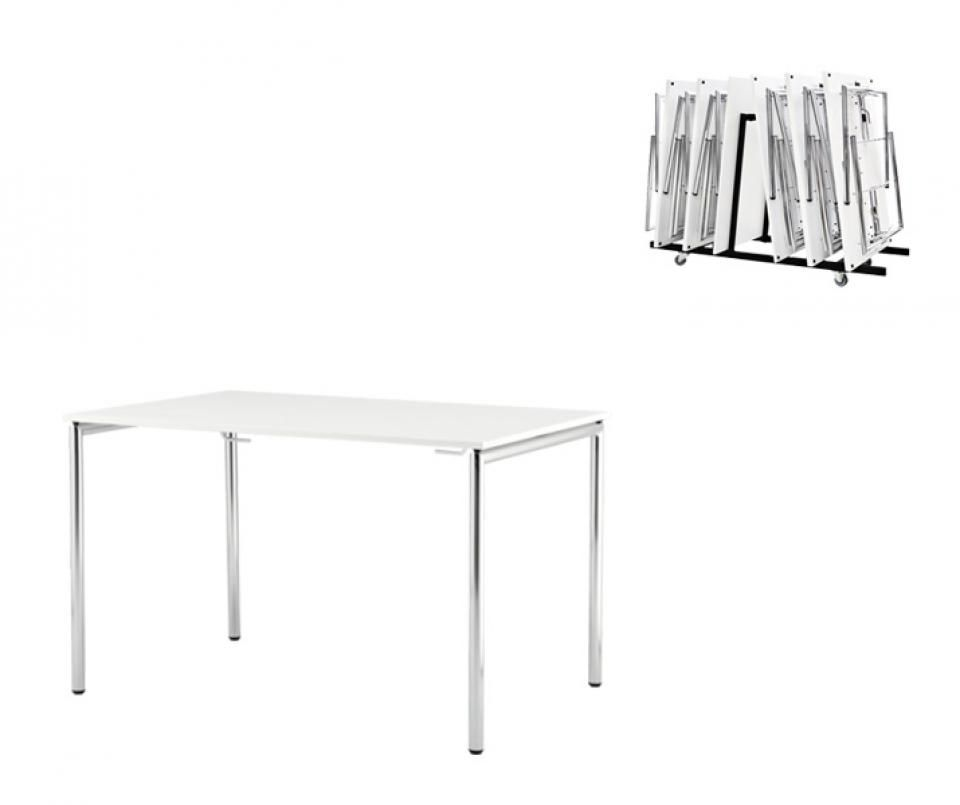 Howe Usu Folding Table Round Legs