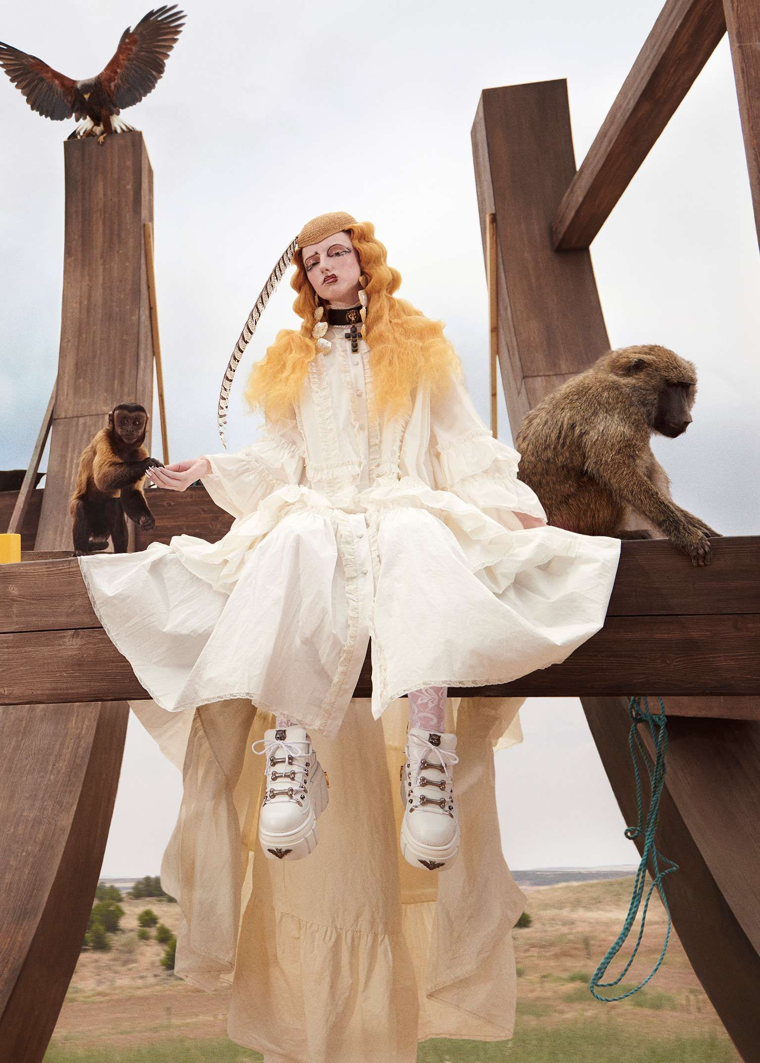 8d75b5b6943d Gucci Gothic: the Cruise 2019 campaign features young farmer-punks in a  surreal, mythological world.Gucci Gothic