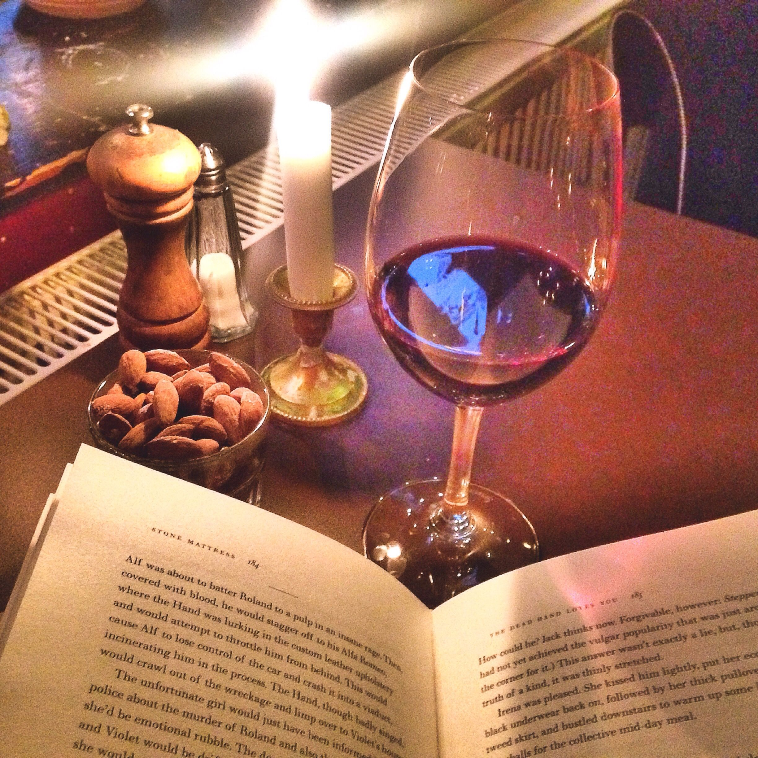 Happy National Bookloversday We Hope You Have A Nice Quiet Evening With A Good Book Humpday Weloveourresidents Waltham Theme Waltham Candlelight Wine