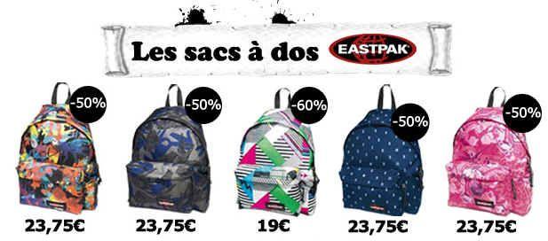 Eastpak Sac jusqu'à 60% Eastpak Reduction sur 170 Modèles