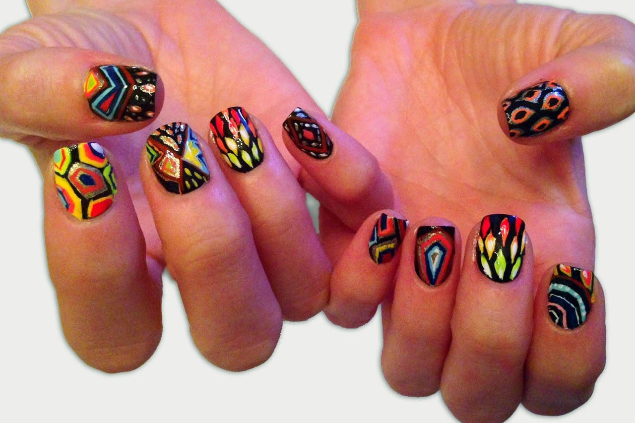 Ninja Turtle Nails | Nails Galore | Pinterest | Ninja turtle nails