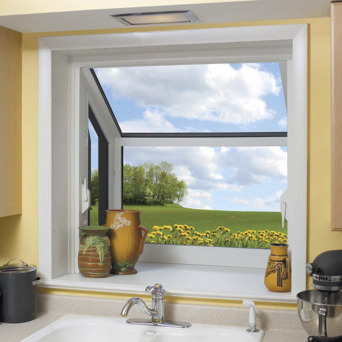Kitchen Garden Windows Lowes With Images Small Garden Window