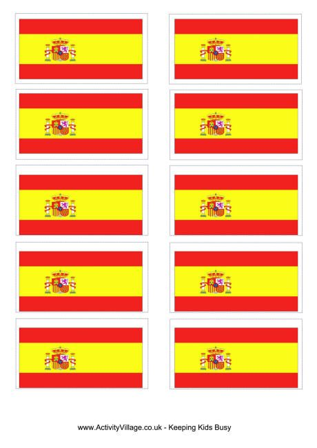 picture regarding Printable Spanish Flag titled Free of charge Printable Olympic Flag  more than the entire world europe