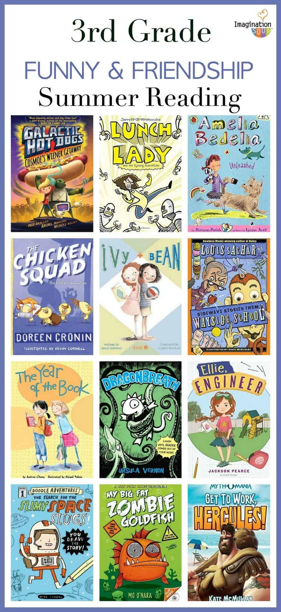 3rd grade summer reading list ages 8 9 3rd grade