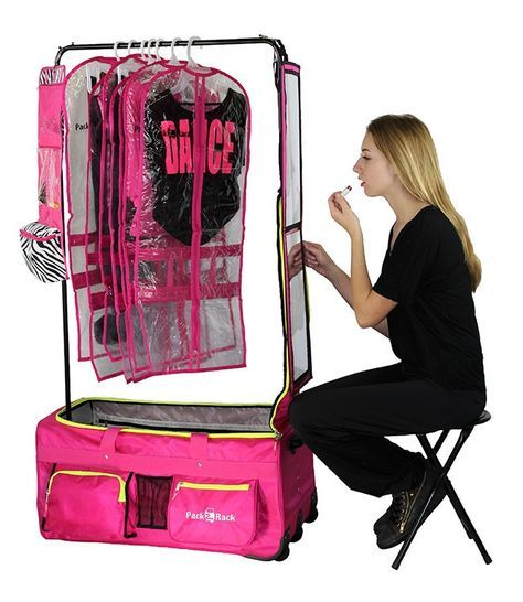 Dance Bag With Garment Rack Fair Pack 2 Rack Rolling Foldable Dance Bag  Dancing And Dance Dance Dance Review