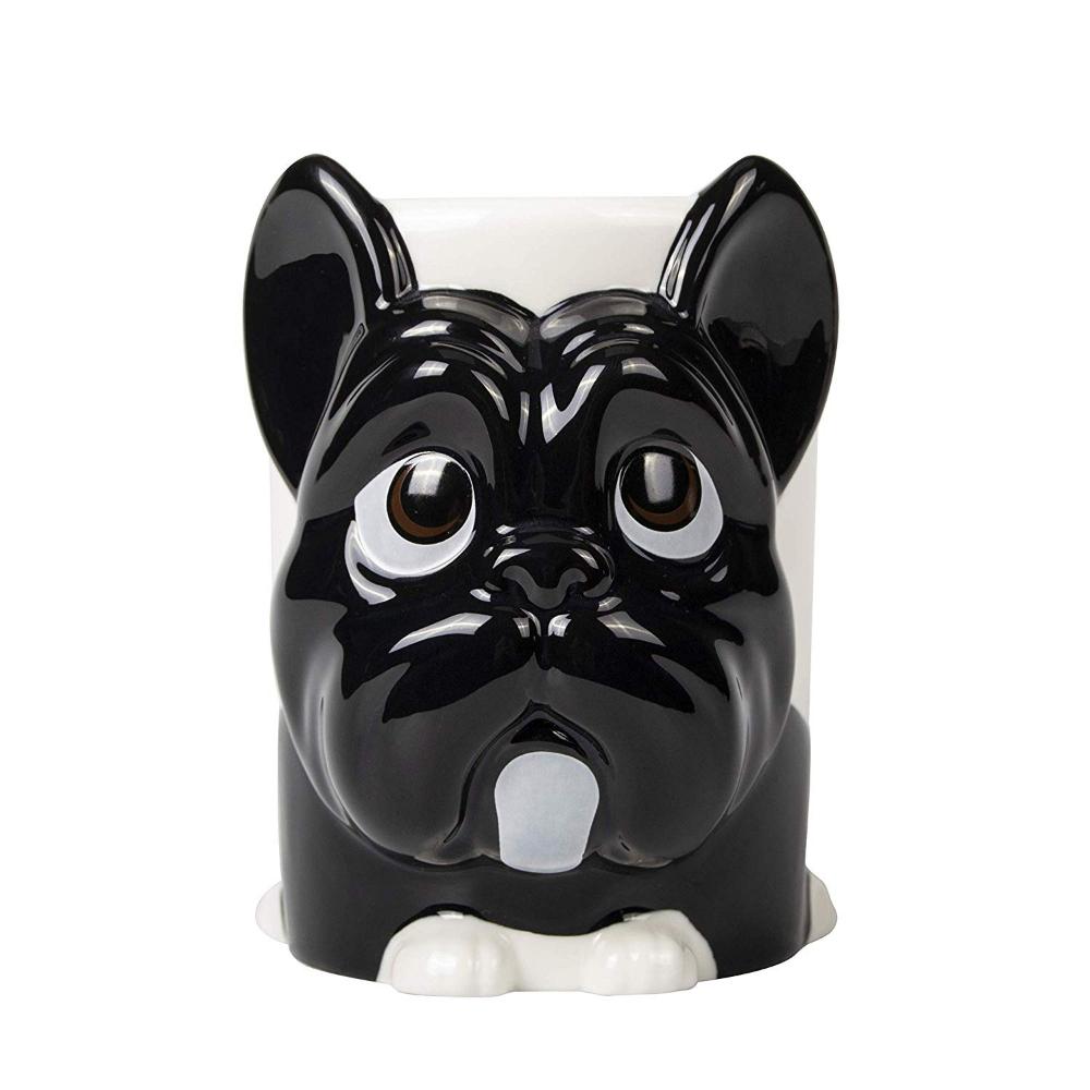Kaffeetasse Kaffee Tasse Becher mit Frenchie Französische Bulldogge Hund