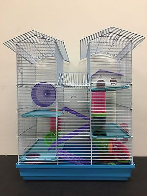Cages And Enclosure 63108 New Large Twin Towner Hamster Habitat