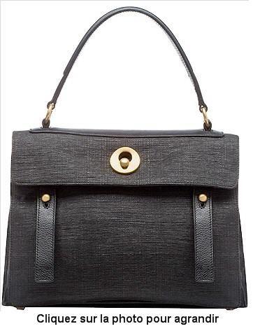 le sac Le-Muse-Two de Yves Saint Laurent conçu avec tissu en sachets plastiques usagés