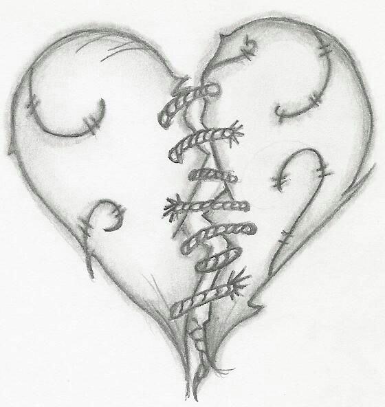 Красивые картинки с сердечками и надписями про любовь карандашом