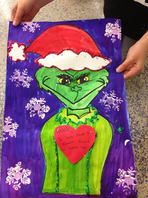 smART Class The Grinch Stole Christmas!!! grinch projects