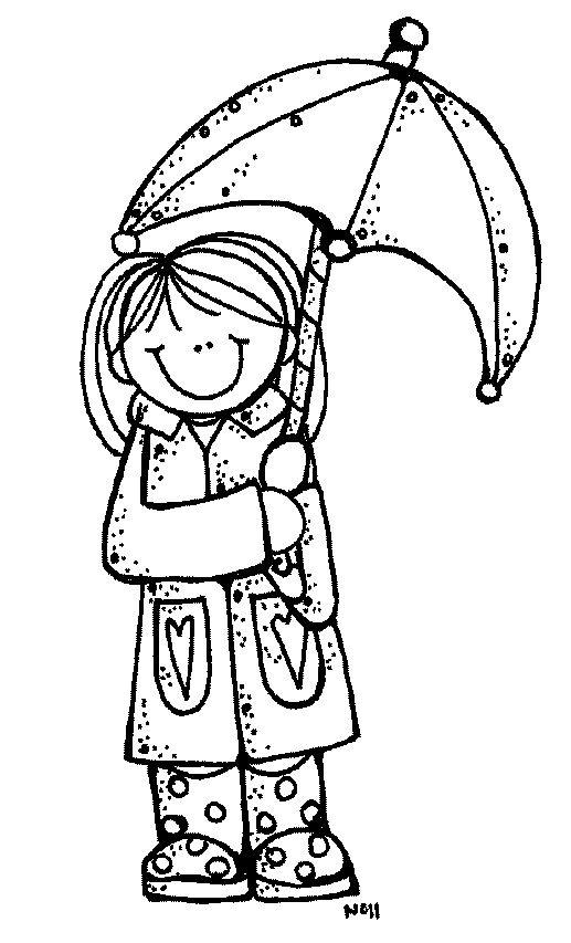 Melonheadz Rain Rain Go Away Melonheadz Doodle People Melonheadz Clipart