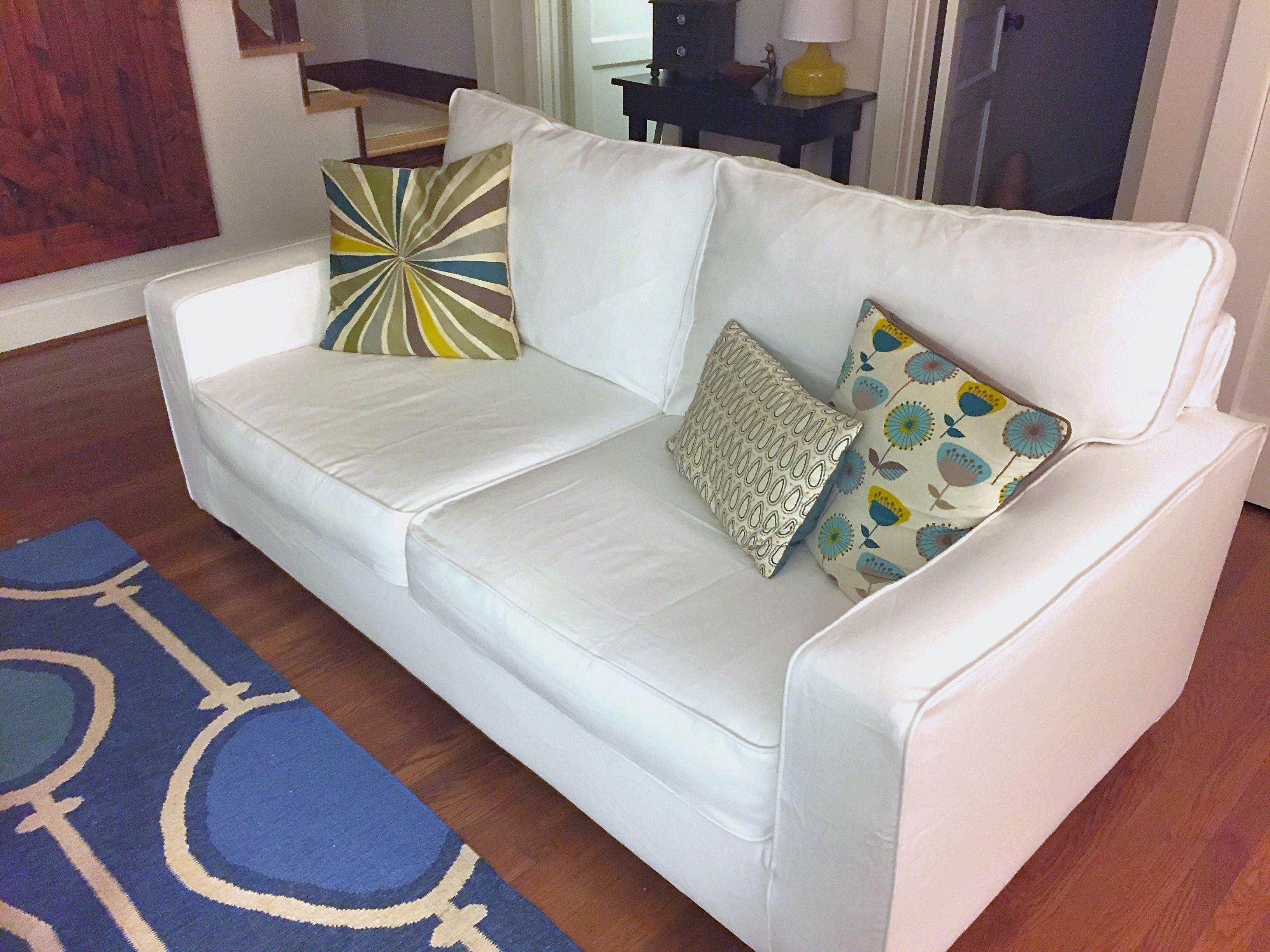 Pleasing Pottery Barn Comfort Square Arm Sofa In Gaia White Crisp Beatyapartments Chair Design Images Beatyapartmentscom