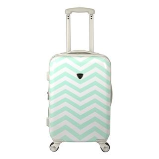 Travelers Club Modern Chevron 20-inch Hardside Expandable Carry-on ...
