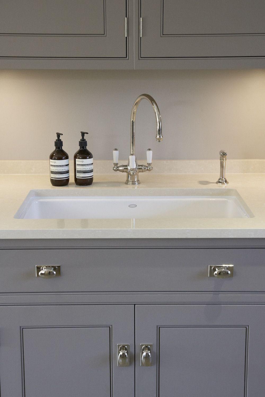 Perrin & Rowe Taps - Humphrey Munson kitchen - Luxury Bespoke ...